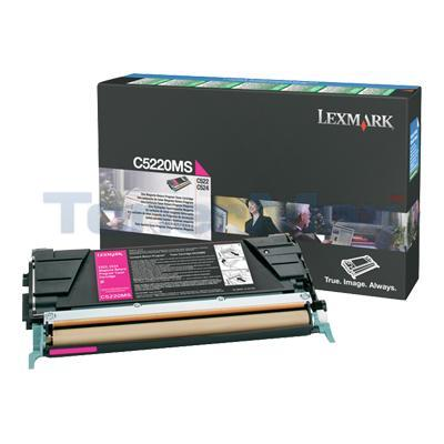 LEXMARK C524 TONER CARTRIDGE MAGENTA RP